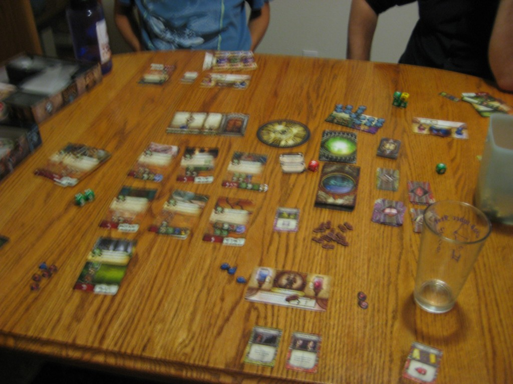 Elder Sign: mid game.