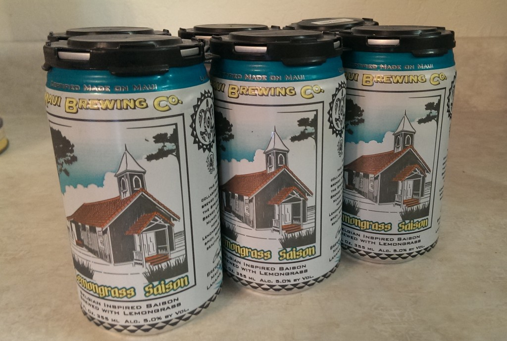Good beer also comes in cans now.