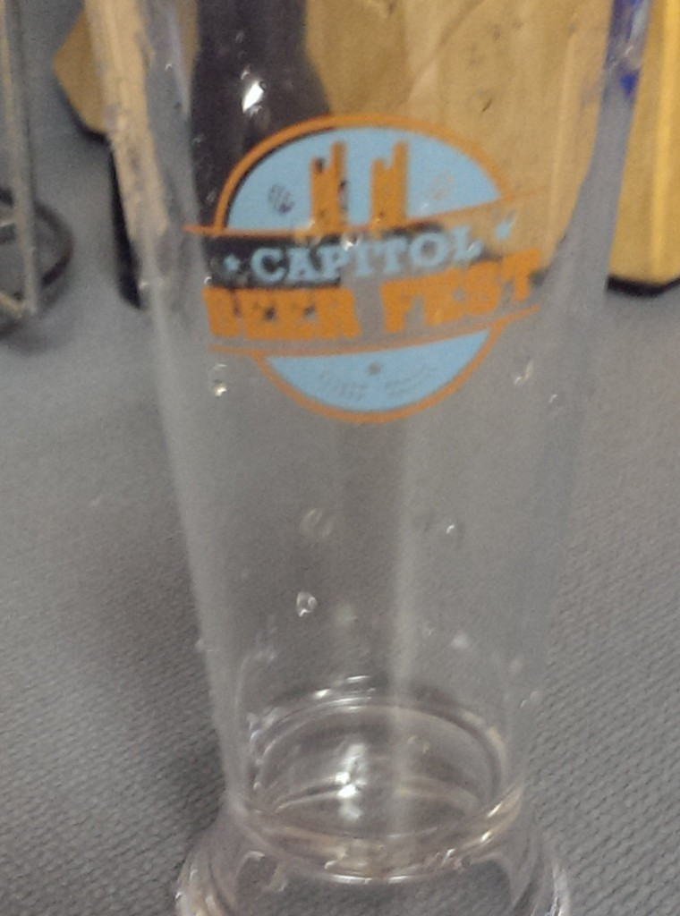 Commemorative flight glass